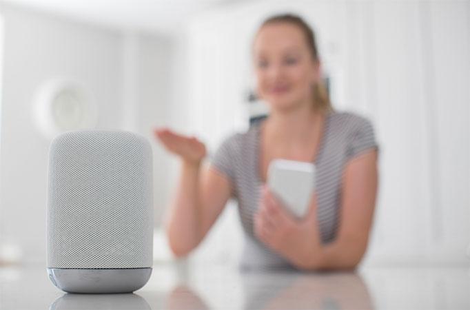 Control de la domótica desde dispositivo de habla