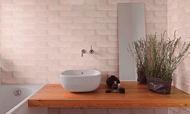 lavabo con detalles nórdicos