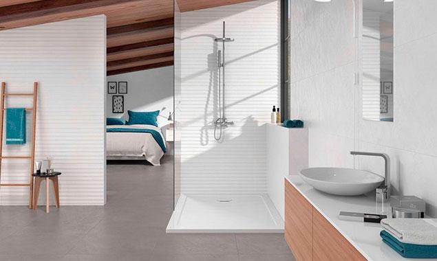 casa pequeña baño estilo nórdico