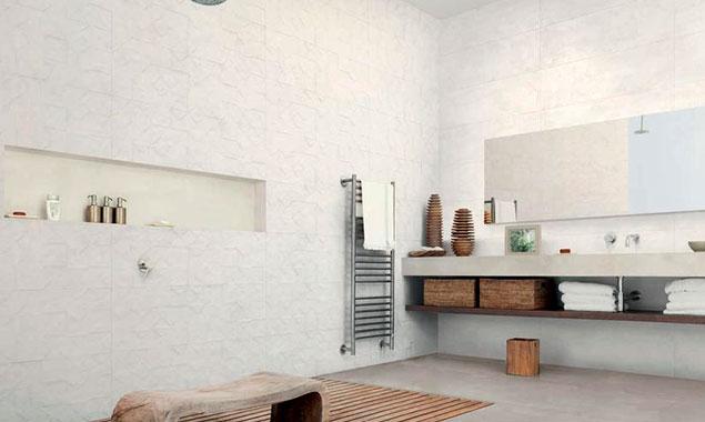 Detalle de un baño nórdico