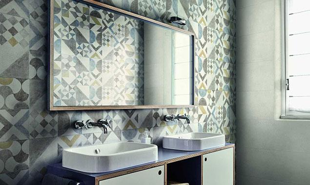 espejo lavabos estilos vintage
