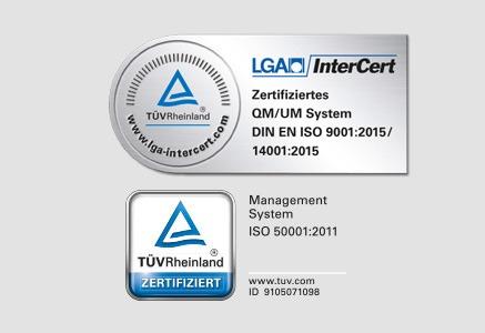 Certificado Alemán calidad baños empresa