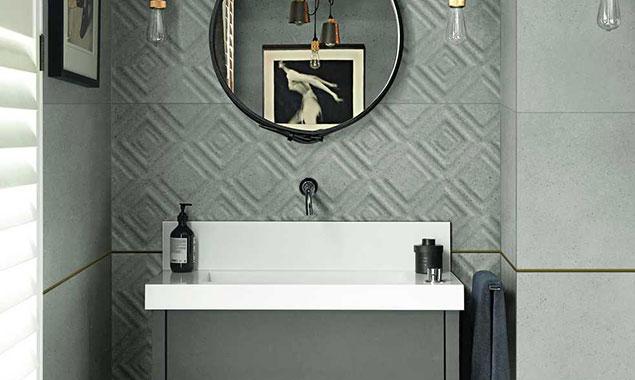 lavabo espejo estilo insdustrial