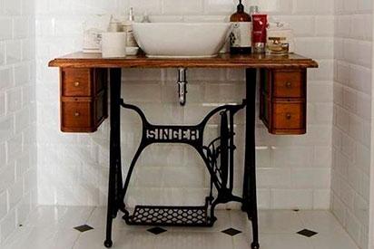Baño vintage sevilla