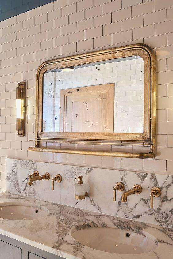 espejo baño sevilla vintage