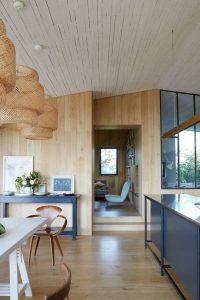 Decoración casa futurista