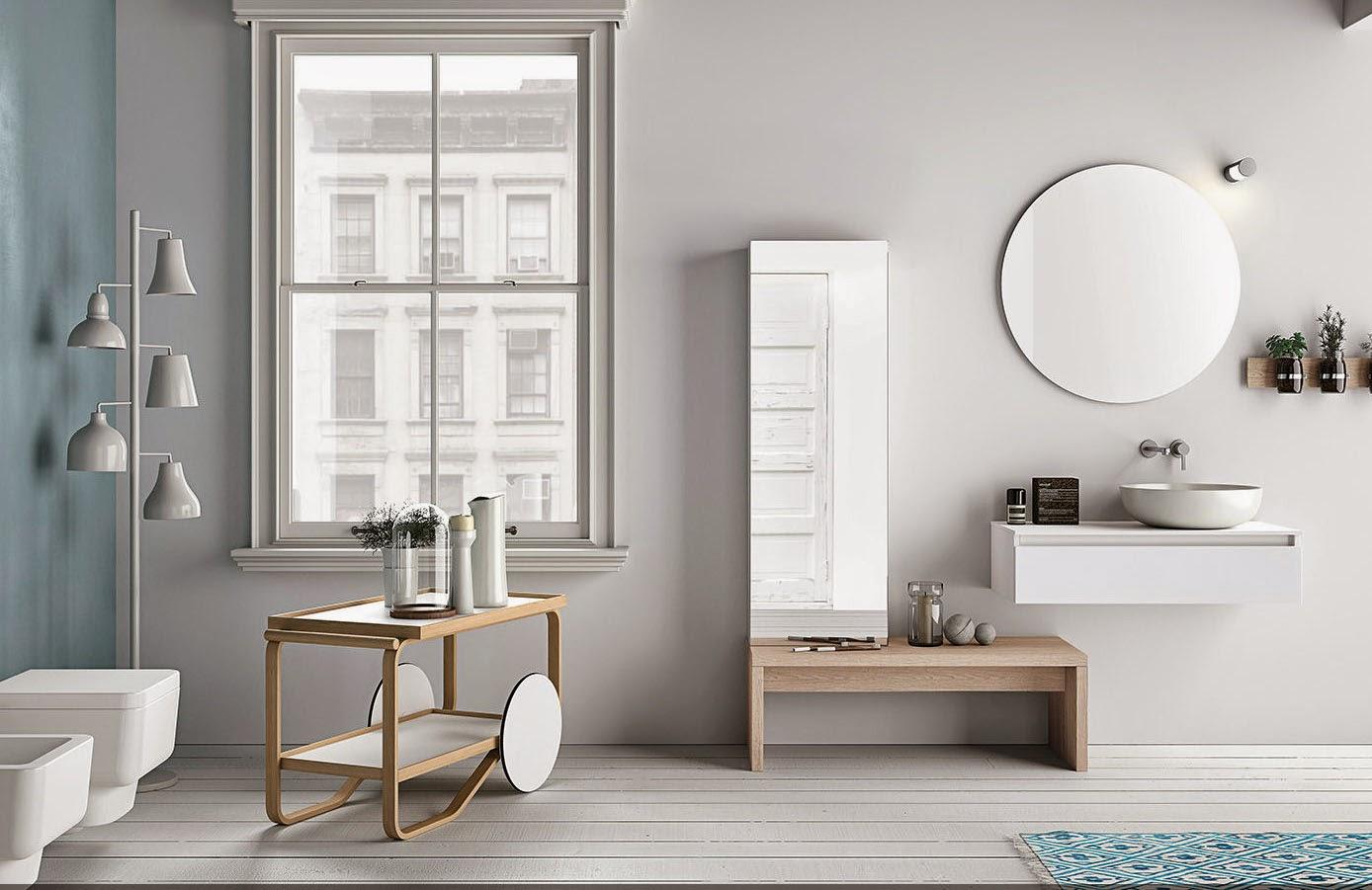 baños estilo nórdico Sevilla diseño interior reformar cuartos de baño servicios precio