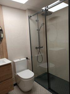 baños con ducha sevilla mampara placa bañera reforma precio presupuesto integral